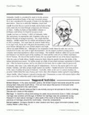 warsaw pact printable worksheet th th grade teachervision biography gandhi