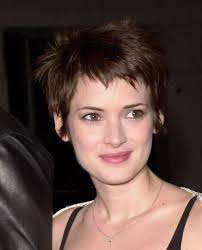 Heart Shaped Hair Style winona ryder sweet pixie cut for a heart shaped face 5233 by wearticles.com