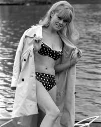 Wendy Richard in a bikini   24 Femmes Per Second
