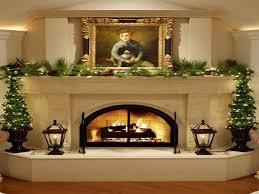 Fresh And Simple Fireplace Mantel DecorFireplace Decorations