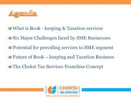 accounting franchise proposal 1 by ca gourang shah operations manager 2 bookkeeping proposal