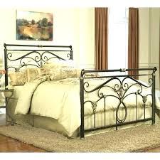 twin wrought iron bed – mubadele.co