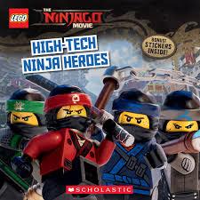 High-Tech Ninja Heroes (The LEGO NINJAGO MOVIE: Storybook): Petranek,  Michael: 9781338139686: Amazon.com: Books