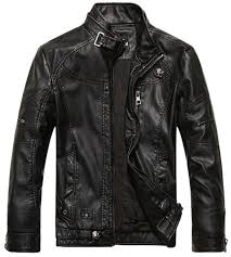 chouyatou s vegan leather jacket