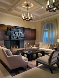 Shop This Look: Grand Contemporary Living Room With Striking ...