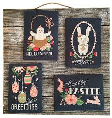 Modern Cross Stitch Patterns New Modern Cross Stitch Easter Chalkboard Greetings Cross Stitch