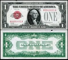 value of old one dollar bills