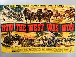 how the west was won movie.  The How The West Was Won  Original Vintage Film Poster For The Was Movie