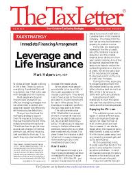 What is participating life insurance for your business? Tax Strategy Leverage And Life Insurance