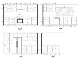 cabinets in modular kitchen details free cad revitcity