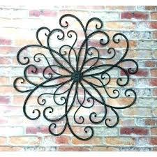 decorative metal wall hangings wrought iron home decor wrought iron hooks red metal wall art wrought decorative metal wall