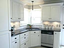 kitchen ideas white cabinets black countertop.  Countertop Backsplash With White Cabinets Absolutely Design For  Kitchen Gorgeous Ideas  Inside Kitchen Ideas White Cabinets Black Countertop