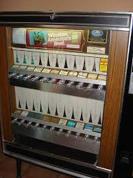 Old School Cigarette Vending Machine