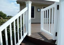 porch gates gate kit view 3 outdoor