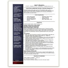 teacher resume template resume templates word 2003