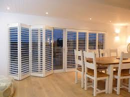 bifold doors and integral blinds page