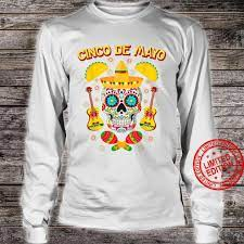 Sugar Skull Cinco de Mayo Shirt
