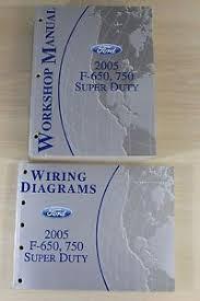 2005 ford f 650 750 super duty workshop manual wiring diagrams image is loading 2005 ford f 650 750 super duty workshop