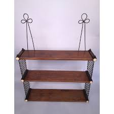small regency period hanging wall shelves circa 1810