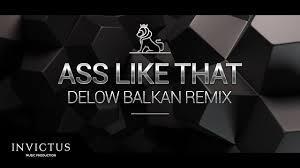 Ass like that remix