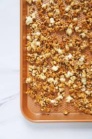 super bowl office party ideas. Bourbon Salted Caramel Popcorn - Super Bowl Party Ideas Office