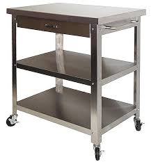 10 photos to kitchen cart with stainless steel top