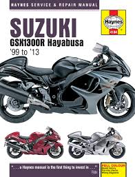 suzuki gsx1300r hayabusa 99 13 haynes repair manual haynes enlarge