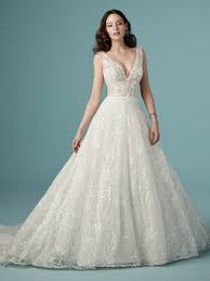 Rose Wedding Dress Designer Ricarda Rose By Maggie Sottero Wedding Dresses In 2019