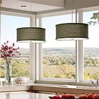 lighting for a kitchen. drum pendants kitchen lighting island for a w