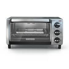 black decker b d 4 slice natural black convection toaster oven 3