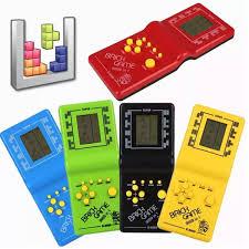 REPLY 8X 9X] Máy chơi game mini xếp hình huyền thoại chất liệu cao cấp an  toàn trở về tuổi thơ dữ dội tiện dụng giúp bạn giải trí gác điện thoại