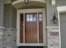 sidelights for front doorsBrilliant Design Craftsman Front Door With Sidelights Stylish 17