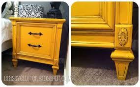 mustard yellow night stand yellow