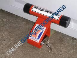 image is loading garage door defender standard security lock pjb302 red