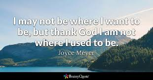 Gods Will Quotes New Joyce Meyer Quotes BrainyQuote