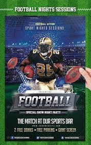 football flyer templates american football flyer template download roines me