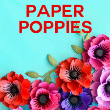 poppy template make paper poppies with free templates jennifer maker