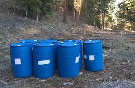 off grid water rain barrels