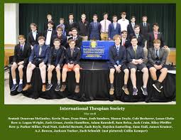the international thespian society its is the educational theatre ociation s high student honorary organization its recognizes rewards