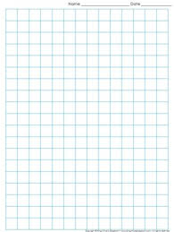 Grapg Paper Graph Paper Full Page Grid Half Inch Squares 14x19 Boxes King Virtue