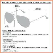Ray Ban Frame Size Flowerxpict Co