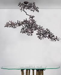 bronze oak branch chandelier