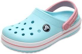<b>Сабо</b> детские <b>Crocs Crocband Clog</b> K, цвет: голубой. 204537-4S3 ...