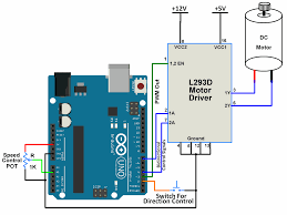 interfacing dc motor with arduino uno