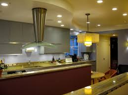 nice kitchen track lighting interior decor. Kitchen Ceiling Track Lighting Canopy Ranges Hood Classy Pendant Lamp Marble Countertops Cabinet Maple Wood Nice Interior Decor