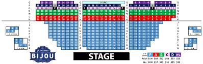Bijou Seating Chart 72 Studious Bridgeport Cabaret Seating Chart