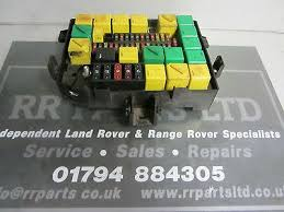 landrover fuse box replacement fuse boxes range rover p38 2001 hse thor v8 yqe103410 main under bonnet fuse box