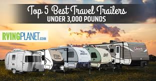 best travel trailers under 3 000 pounds
