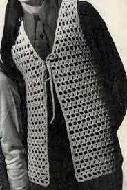 Free Crochet Vest Patterns Amazing Open Stitch Crocheted Vest Pattern Crochet Patterns