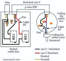 ceiling fan sd switch wiring diagram